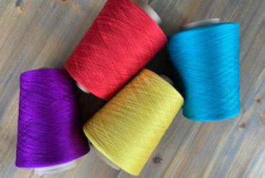 Dyed silk yarn - Eurestex Silk Yarn - Bradford West Yorkshire