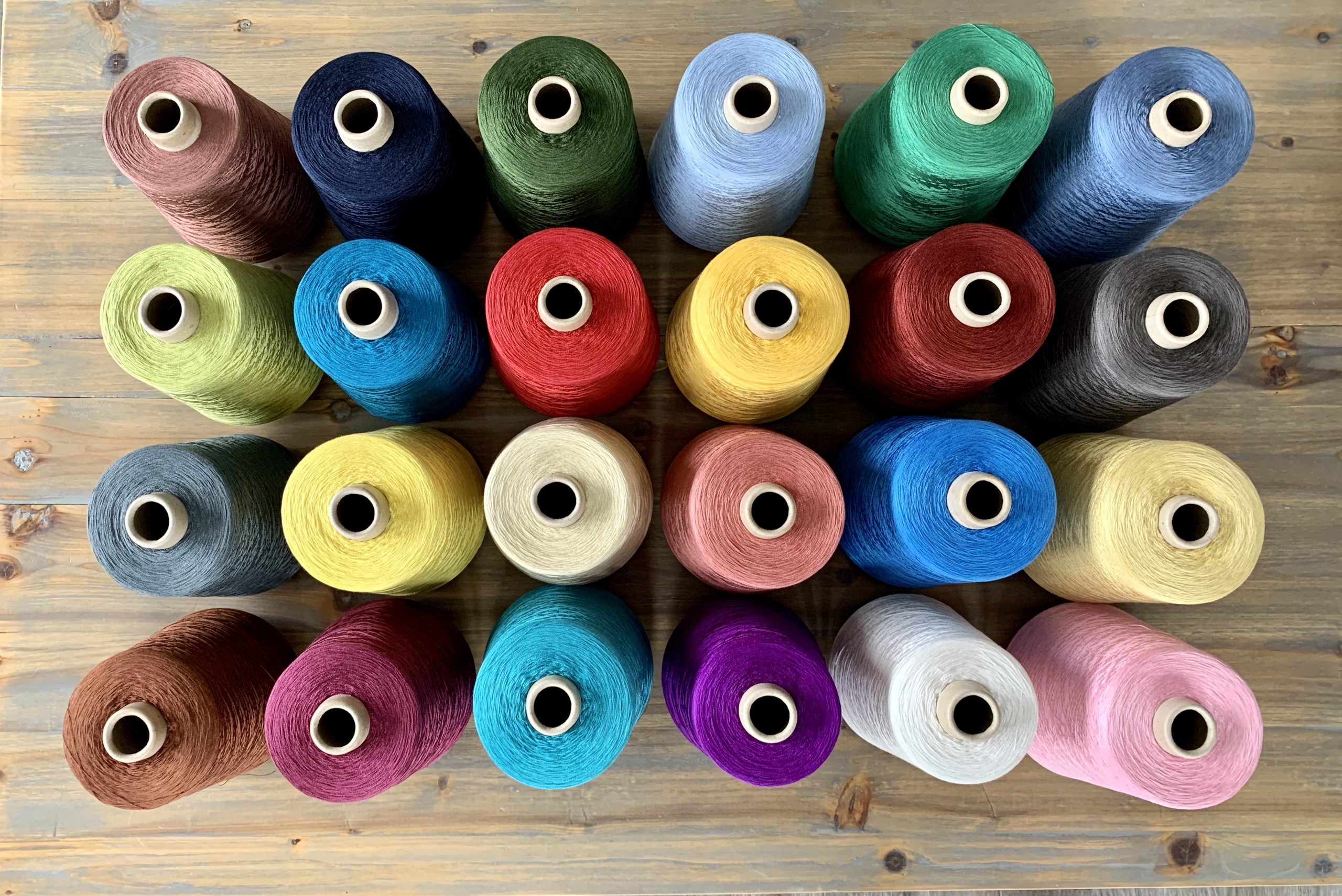Dyed Silk yarn - Eurestex Silk Yarn - Worldwide delivery