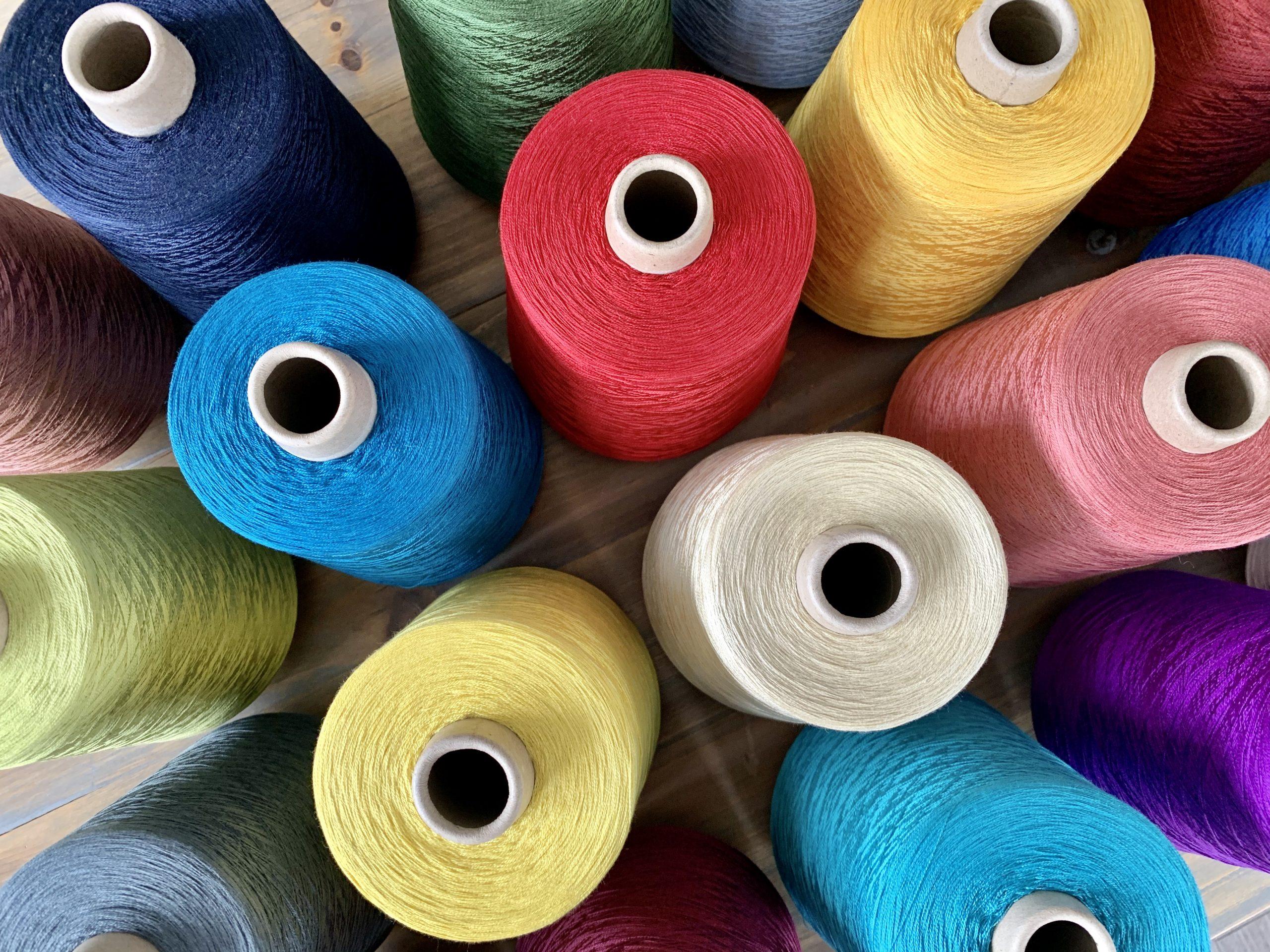 Dyed Silk yarn - Eurestex Silk Yarn - Worldwide delivery